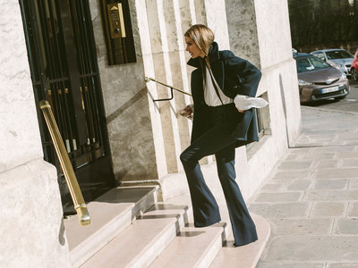 Olivia Palermo nos da las claves para vestir de manera elegante y sencilla para ir al trabajo
