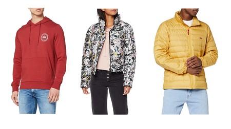 Chollos en tallas sueltas de chaquetas sudaderas de marcas como Levi's, Pepe Jeans, Superdry o Jack & Jones en Amazon