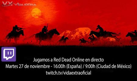 Streaming de Red Dead Online a las 21:00h (las 14:00h en CDMX) [finalizado]