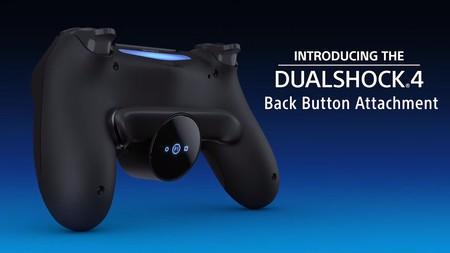 El Dualshock 4 incorporará un accesorio con botones traseros para otorgar hasta 16 acciones distintas