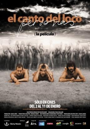 'El canto del loco: personas (la película)', póster y tráiler