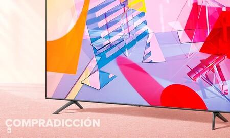 Una smart TV de 55 pulgadas con panel QLED como la Samsung QE55Q60T tiene un precio estupendo en el Día sin IVA de MediaMarkt: hazte con ella por sólo 677 euros
