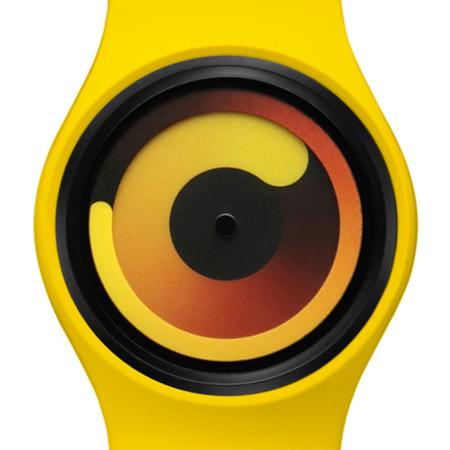 Reloj Gravity de Ziiiro, adivina la hora