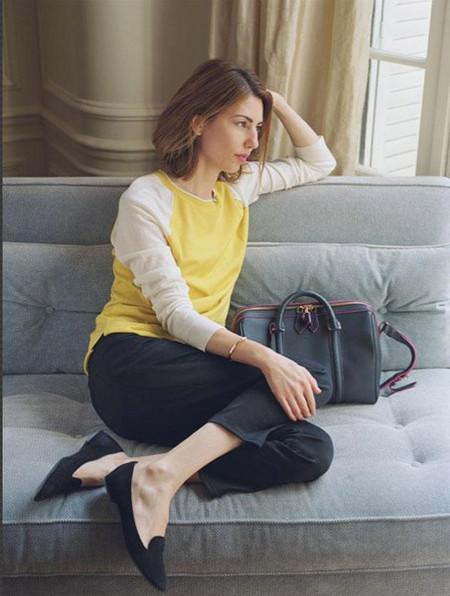 """Sofía Coppola presenta la nueva versión del """"it-bag SC"""" de Louis Vuitton"""