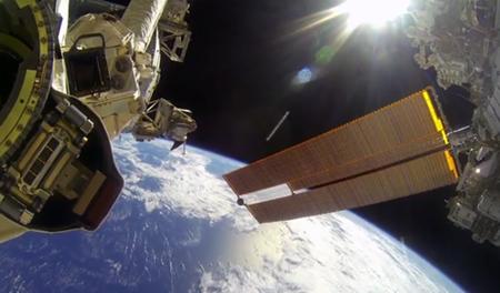 ¿Paseos espaciales con cámaras de acción? Los astronautas de la NASA echan mano de GoPro