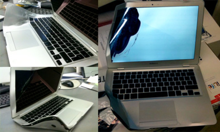MacBook Air contra un autobús, el combate definitivo