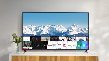 """Pantalla tan grande como su rebaja: La Smart TV 4K LG 75UN71006LC 2020 de 75"""" está de oferta por menos de 800 euros en Amazon"""