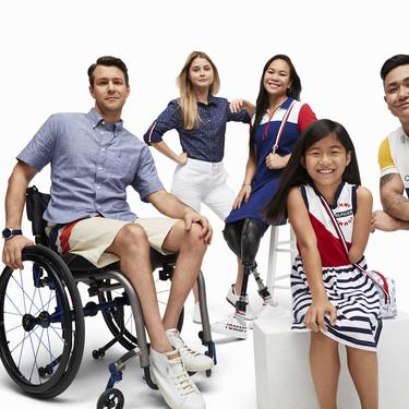 Tommy Hilfiger ha diseñado esta colección tan ideal para que las personas discapacitadas se vistan fácilmente