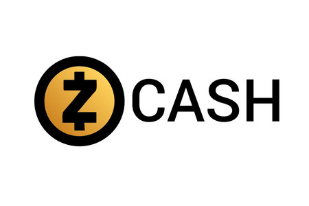 Logo de la moneda digital Zcash