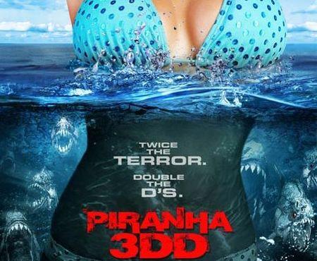 'Piraña 3DD', sangre, tetas y David Hasselhoff