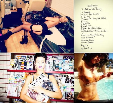 Rihanna fotos en redes sociales
