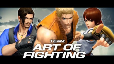 El equipo de Art of Fighting se muestra en The King of Fighters XIV