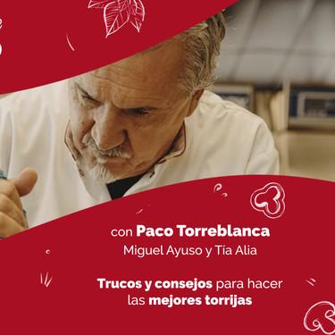 Paco Torreblanca cocina torrijas en Directo al Paladar: ya puedes ver el vídeo