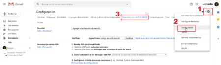 Reenvio Automatico Correos Gmail