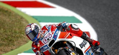 Con una victoria de libro en MotoGP, Andrea Dovizioso cierra el triplete italiano en Mugello