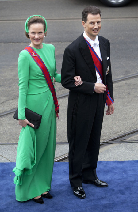 Sofía de Baviera Holanda rey coronación