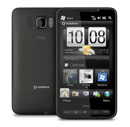Vodafone España anuncia en exclusiva el HTC HD2 para profesionales
