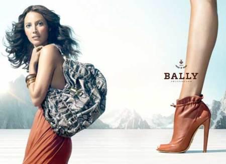 Christy Turlington para Bally Primavera-Verano 2010