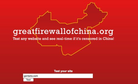 Window Y Great Firewall Of China