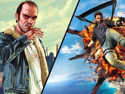 Grand Theft Auto V y Just Cause 3 se encuentran en oferta en Steam por poco tiempo