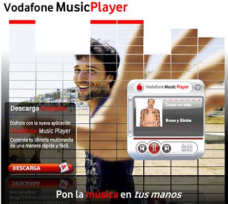 Las novedades de Vodafone para esta primavera: Music Player y nueva navegación Vodafone Live!