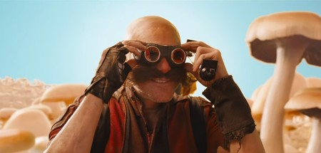 Dr Eggman Sonic Pelicula Live Action