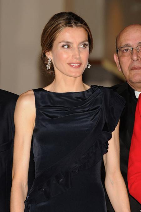 La princesa Letizia impacta