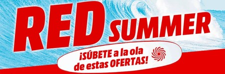 Mediamarkt te propone una semana más de Red Summer: estas son las mejores ofertas