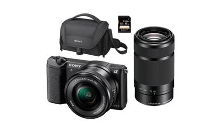 Los Outlet Days de MediaMarkt nos traen de nuevo un completo kit con la Sony Alpha 5100L por 599 euros