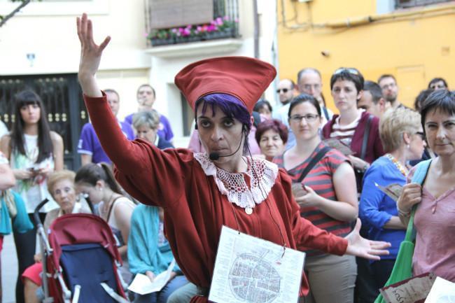 Visitas teatralizadas a la localidad de Aranda de Duero