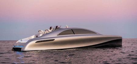 Mercedes-Benz se lanza al mar de los yates de lujo con una flecha plateada de 1,7 millones de dólares
