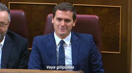 """Sí, Rivera ha llamado """"gilipollas"""" a Iglesias en el Congreso. Y es más normal de lo que parece"""