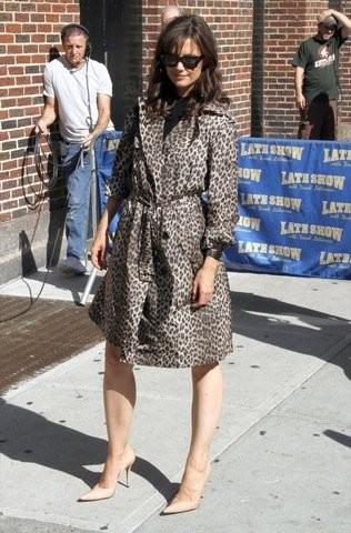 Los últimos looks de Katie Holmes, fiel a su estilo ladylike