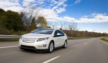 Chevrolet Volt blanco