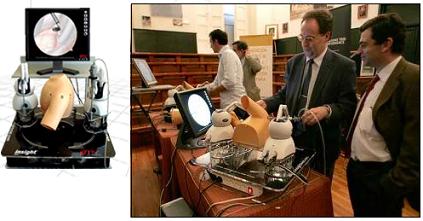 Simulador de cirugía artroscópica desarrollado completamente por españoles, insightMIST