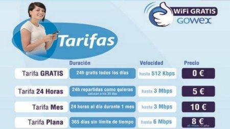 GOWEX elimina la restricción de uso máximo durante 30 minutos  de su red WiFi gratuita