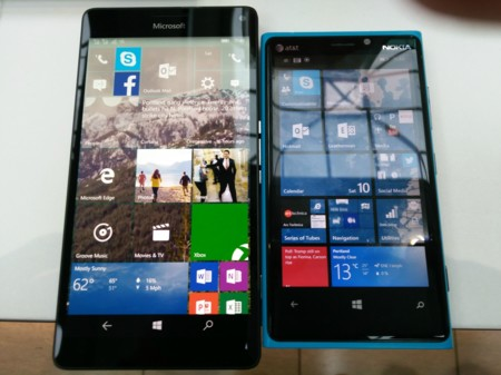 Lumia 920 Vs 950 Xl Front