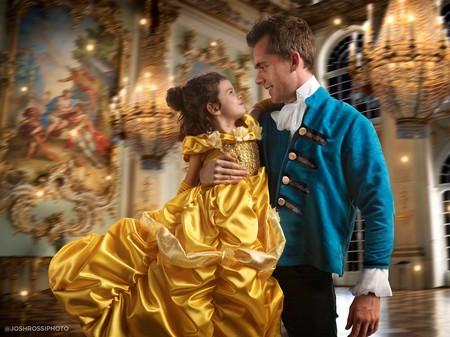 Un padre recrea impresionantes escenas de 'La Bella y la Bestia' para cumplir el sueño de su hija