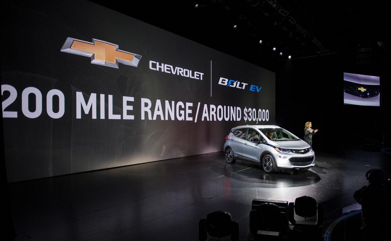Foto de 2017 Chevrolet Bolt EV (20/25)