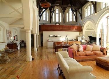 Casas poco convencionales: un templo en Londres