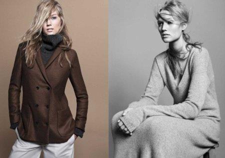 Zara, catálogo Otoño-Invierno 2010/2011. Abrigo