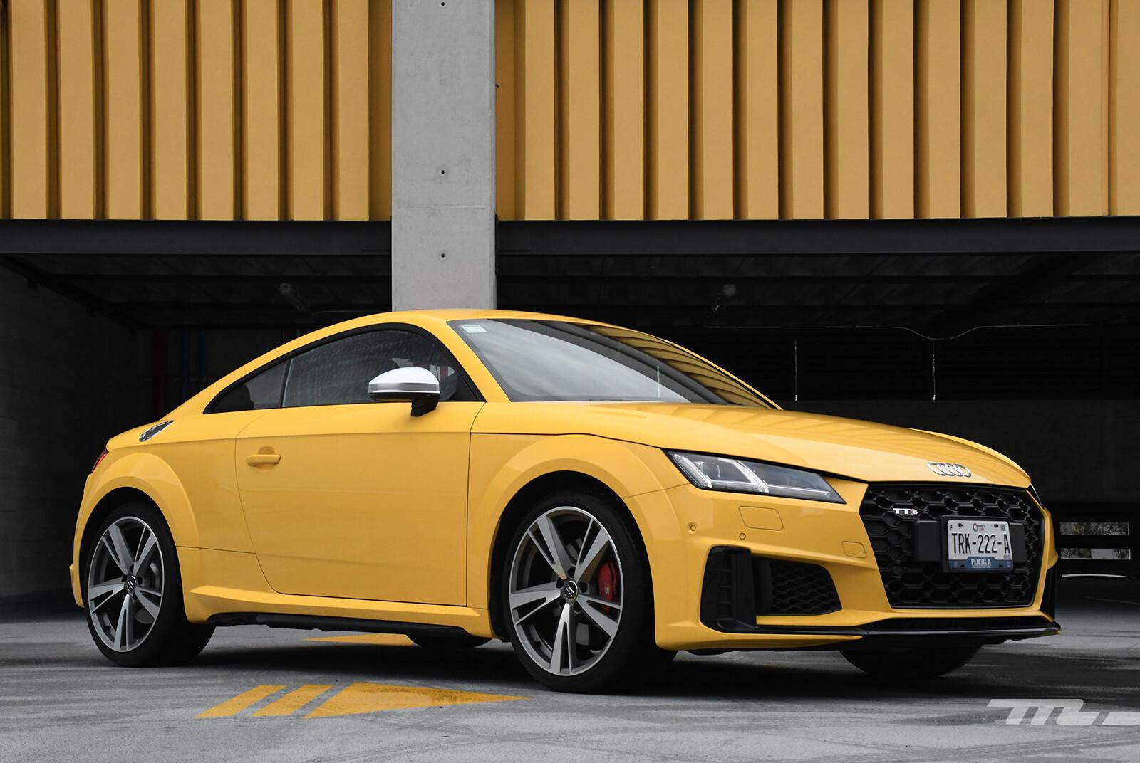 Audi TTS (prueba)