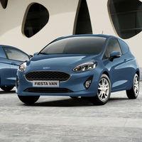 """El nuevo Ford Fiesta ya tiene versión comercial: el """"furgón"""" Fiesta Van para profesionales"""