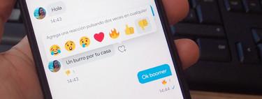 Twitter añade reacciones a los mensajes privados, similares a las de Facebook