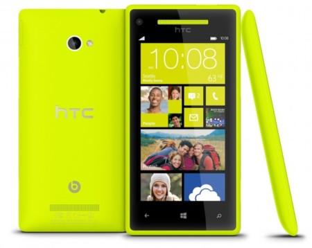 HTC 8X Limelight