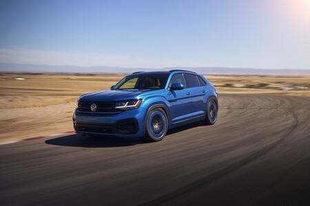 ¿Podría haber un Volkswagen Touareg coupé R? Sí, podría, y se parecería mucho a este prototipo