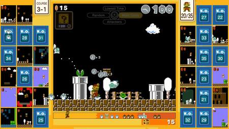 Mario y su Battle Royale tan caótico ya están disponibles en Nintendo Switch con Super Mario Bros. 35
