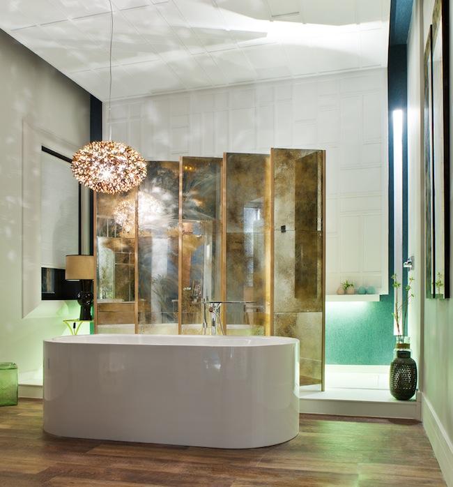 La semana decorativa cuartos de ba o perfectos colores for Espejos bano originales