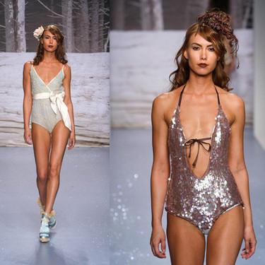 Sarah Larson, novia de George Clooney, en la Semana de la Moda de Los Angeles