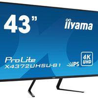 Crece el mercado de los monitores gaming: el iiyama ProLite X4372UHSU ofrece resolución 4K a una frecuencia de 60 Hz